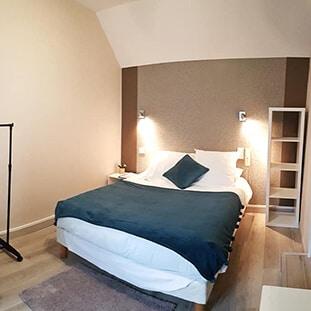 Chambre double à l'hôtel Mogador