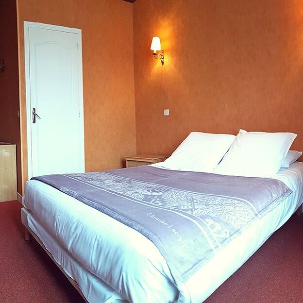 Chambre triple avec lit double Hôtel Mogador